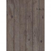 Toile en coupon - Brod'star - Coupon motif planches bois - 30 x 40 cm