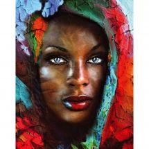 Kit de broderie Diamant - Collection d'Art - Trésor d'Afrique
