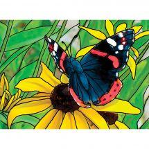 Kit de broderie Diamant - Collection d'Art - Papillon