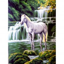 Canevas Pénélope  - Collection d'Art - La cascade