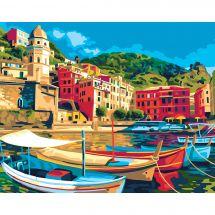 Canevas Pénélope  - Collection d'Art - Vue sur le port