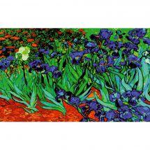 Canevas Pénélope  - Collection d'Art - Les iris