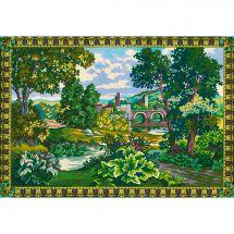 Canevas Pénélope  - Collection d'Art - Verdure au pont
