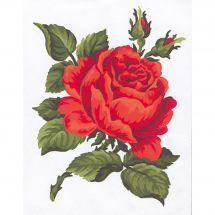 Canevas Pénélope  - Collection d'Art - Rose rose