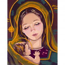 Canevas Pénélope  - Collection d'Art - Vierge à l'enfant