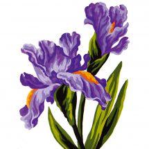 Canevas Pénélope  - Collection d'Art - Iris