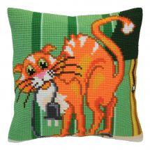 Kit de coussin gros trous - Collection d'Art - Blague de chat