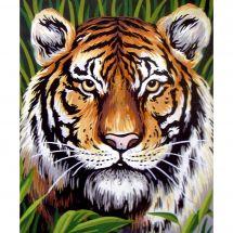 Canevas Pénélope  - Collection d'Art - Le tigre