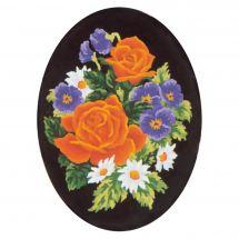 Canevas Pénélope  - Collection d'Art - Bouquet de fleurs