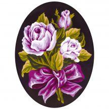Canevas Pénélope  - Collection d'Art - Roses coupées