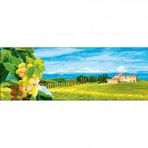 Canevas Pénélope  - Collection d'Art - La maison dans les vignes