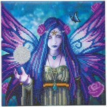 Kit de broderie Diamant sur châssis - Crystal Art D.I.Y - Aura mystique