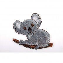 Sticker broderie Diamant - Crystal Art D.I.Y - Autocollant - Koala