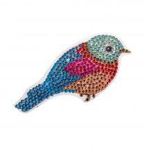 Sticker broderie Diamant - Crystal Art D.I.Y - Autocollant - Oiseau