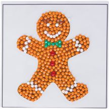 Sticker broderie Diamant - Crystal Art D.I.Y - Autocollant - Biscuit