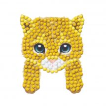 Sticker broderie Diamant - Crystal Art D.I.Y - Autocollant - Chaton