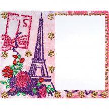 Support carton broderie Diamant - RTO - Paris