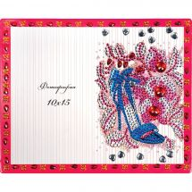 Support carton broderie Diamant - RTO - Glamour