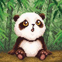 Kit de broderie Diamant - RTO - Bébé panda