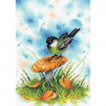 Kit de broderie Diamant - RTO - Petit oiseau