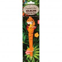 Accessoires Diamant - Crystal Art D.I.Y - Stylo broderie Diamant - Tigre