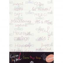 Kit customisation - DMC - Feuille magique - Custom by me !