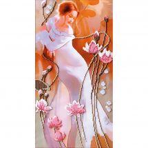 Kit de broderie avec perles - Charivna Mit - Francesca