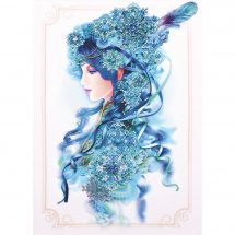 Kit de broderie avec perles - Charivna Mit - La reine de la neige