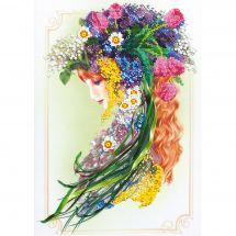 Kit de broderie avec perles - Charivna Mit - L'envoyée du printemps