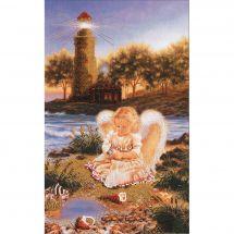 Kit de broderie avec perles - Charivna Mit - Ange à la perle