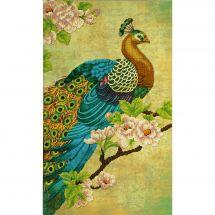 Kit de broderie avec perles - Charivna Mit - Oiseau de paradis