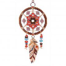 Kit point de croix avec perles - Charivna Mit - Attrape rêves