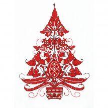 Kit point de croix avec perles - Charivna Mit - L'arbre de vie