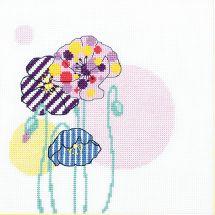 Kit point de croix avec perles - Charivna Mit - Illusion de couleurs