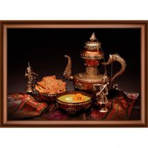 Broderie Crystal  - Charivna Mit - A l'heure du thé