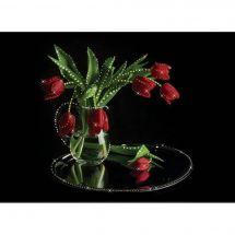 Broderie Crystal  - Charivna Mit - Bouquet de tulipes