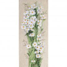 Kit point de croix - Charivna Mit - Le bouquet de fleurs blanches