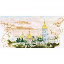 Kit point de croix - Charivna Mit - Dômes d'or