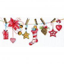 Kit point de croix - Charivna Mit - Ambiance festive