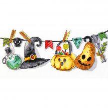 Kit point de croix - Charivna Mit - Halloween