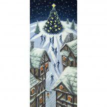 Kit point de croix - Charivna Mit - Lumières de Noël