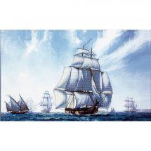 Kit point de croix - Charivna Mit - Sous le ciel bleu