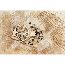 Kit point de croix avec perles - Charivna Mit - Prise mystérieuse