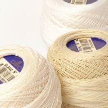 Fil à crocheter - DMC - N°60 cordonnet à crocheter - Article 151
