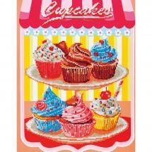 Kit de broderie Diamant - Diamond Dotz - Cupcakes