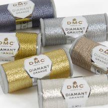 Fil à broder métallisé - DMC - Fil métallisé Diamant Grandé