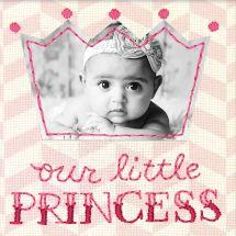 Kit au point de broderie  - Dimensions - Petite princesse