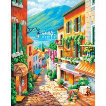 Kit de peinture par numéro - Dimensions - Marches de village