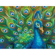 Kit de peinture par numéro - Dimensions - Plumes sauvages