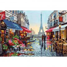 Kit de peinture par numéro - Dimensions - Boutique de fleurs à Paris